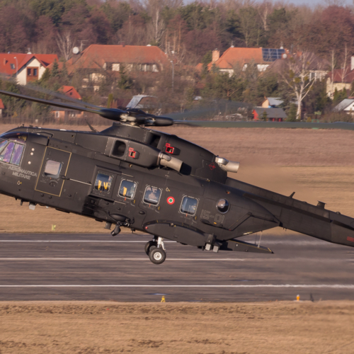 Agusta Westland AW101 demonstration
