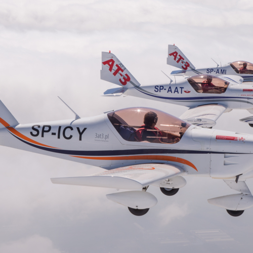 3AT3 nad chmurami – Air-to-Air