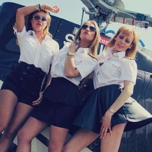 Aviation Girls – lotnicza sesja zdjęciowa